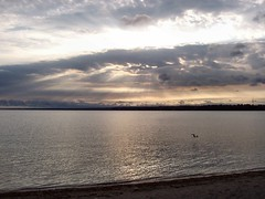 Bliss (Lapis Leslie) Tags: sunrise beauty barrie ontario water kempenfeltbay clouds sky wow