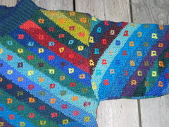 Kaffe Fassett pullover (Torirot) Tags: sweater knitting handmade crafts craft clothes childrens kaffefassett pullover intarsia