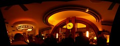 Panorama of the bar at the Blue Mill Tavern by Brett L., on Flickr