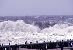 King Neptune is Not Happy With New Jersey! (Sister72) Tags: rain waves ocean rough noahbuildanark oceangrove nj seas flood october 2005 crashing lookslikeawaterfall jerseyshore whitewater whitefoam blue atlanticocean wow themeweather monmouthcounty
