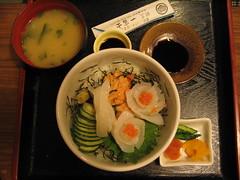 Uni Meshi (Skip the Filler) Tags: iki island nagasaki fukuoka japan yuki penis shrine uni seaurchin teishoku food unimeshi