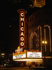 Chicago Theatre at Night (laffy4k) Tags: 2005 chicago night lights illinois downtown nighttime chicagoatnight downtownchicago chicagotheater chicagotheatre downtownchicagoatnight schmap pilobolusdancetheatre igotschmapped