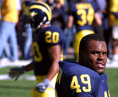 You lookin' at me? (Andrew Morrell Photography) Tags: deleteme1 deleteme stadium michiganwolverines pennstate bighouse football annarbor michiganstadium collegefootball saveme3 deleteme10 topv111 top20sports