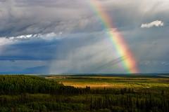 Wait! (Eric Rolph) Tags: sky alaska landscape nationalpark rainbow adventure wrangellstelias smallsize