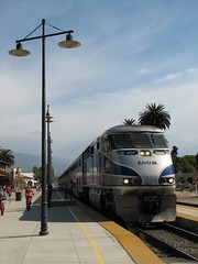 Pacific Surfliner at Santa Barbara
