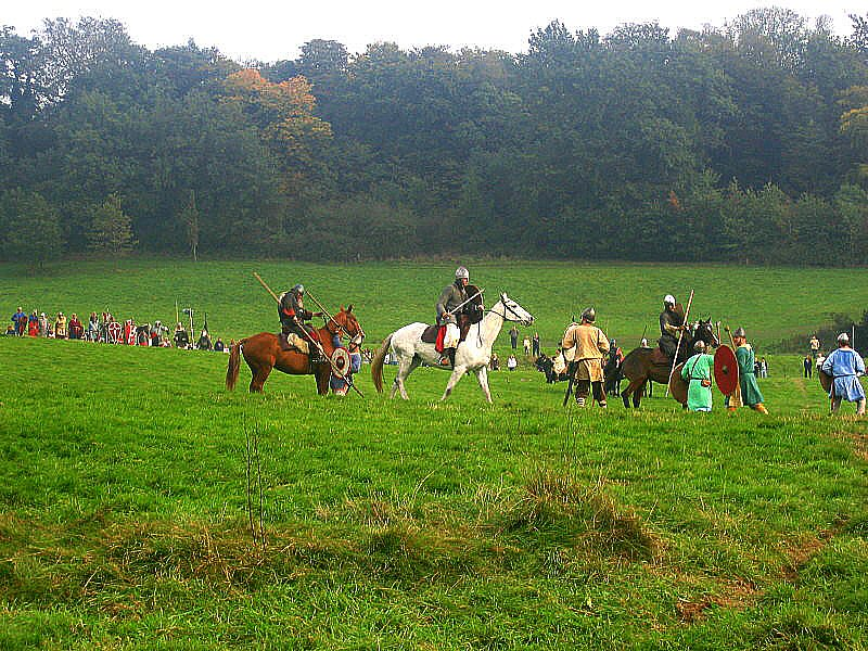 Battle of Hastings 1066. Battle, East Sussex. UK. October 2005