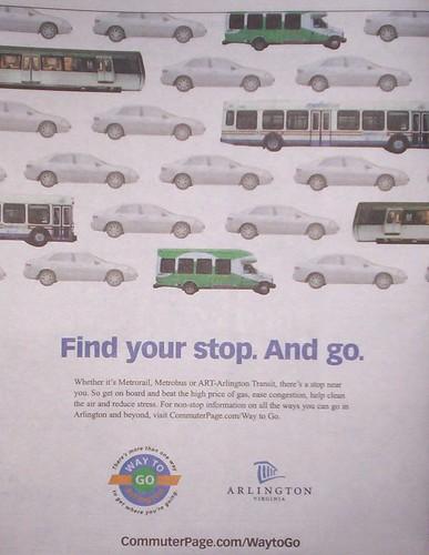 Arlington Transit Promotion ad