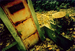 The Door to the Forgotten Realm (ale2000) Tags: park door wood urban italy orange green nature yellow wow lost florence interestingness xpro cross decay crossprocess secret urbandecay cosina rusty forgotten rusted forsakenthings photowalk photofriday firenze lordoftherings process aprticket antiphoto 1000 citypark realm cascine mc04 topmc04 mc04submission02abandoned topmc04submission02 misterydoor misteriousdoor mrthebyrds utataopensthedoor utata:project=abandoned