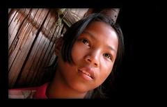 Na-Kheu listens (Yorick...) Tags: eyes travel thailand people lahu cute gutentag yorick wow asian asia portrait topv111 wonder nakheu
