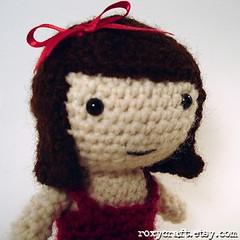 Ramona Peep (Roxycraft) Tags: amigurumi softies plush mos crochet handmade