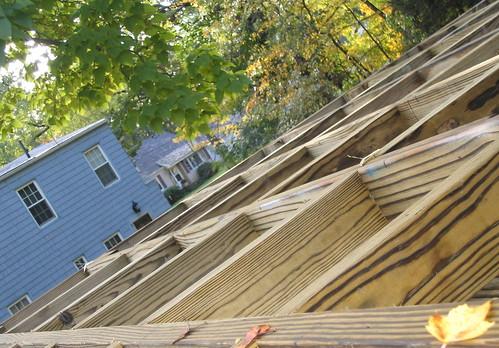 Catacorner deck frame by Ctd 2005