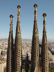 View from the top (willsdad) Tags: barcelona topv111 spain gaudi sagradafamilia 111v1f