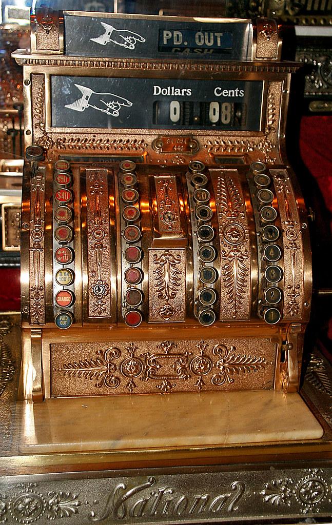 Marinni старинные кассовые аппараты