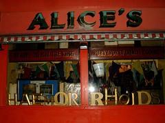 portobello sign funny alice london