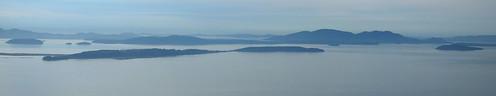 Samish Island Panorama from Chuckanut