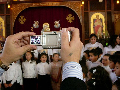 """The Amsterdam Coptic-Orthodox Church is filled to capacity on every Sunday,"