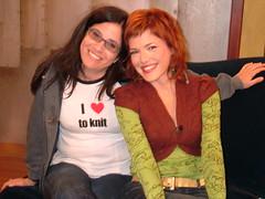 Me & Adina (onecraftygrrl) Tags: knitty gritty season 4