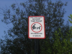 Scoop sign. From Minor Prophet, Flickr