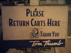Mega Man says please return all carts