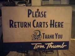 Mega Man says please return all carts