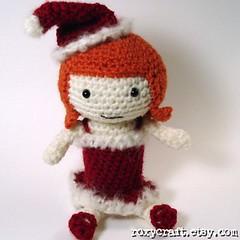 Holiday Ramona 3 (Roxycraft) Tags: amigurumi softies plush mos crochet handmade
