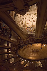 Looking Up (Giant Ginkgo) Tags: mirror reflection ceiling france paris opranationaldeparis nationalopera opera opra academienationaledemusique lopra charlesgarnier opragarnier