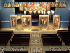 Iconostasis and deisis (phool 4  XC) Tags: lebanon church icons icon christian orthodox orthodoxchristian bhamdoun  godslight  phool4xcnetphotos phool4xc lalucedidio laluzdedios