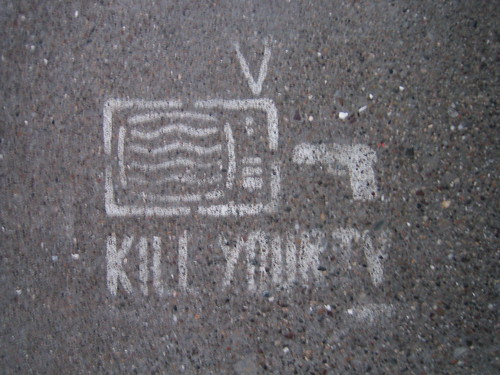 Desligue sua TV