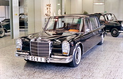 The Pope's 1965 Mercedes-Benz 600 Landaulet (Michiel2005) Tags: pope geotagged mercedes stuttgart 600 mercedesbenz popemobile mercedesmuseum landaulet paulvi w100 6car geolat48786523 geolon9240865