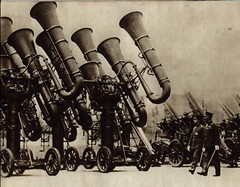Japanese War Tubas (TitaniumDreads) Tags: japanesewartubas emperorhirohito japan wwii oldschool battle antiaircraft war tuba wartuba strange antiquated