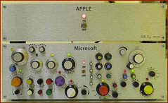 Apple vs Microsoft (Paul Annett) Tags: silly apple photo funny geek humor applemac humour microsoft usability applemacintosh
