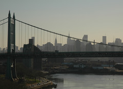 NYC Skyline Triboro Bridge (nfoto) Tags: new york city nyc bridge beautiful silhouette topv111 skyline wow topv333 cityscape view skyscrapers cities silhouettes bridges 400views 300views neat 500views creamofthecrop 500v nycskyline triboro triborobridge 300v almostmonochromatic nfoto greatcapture 400v cotcbest2005 almostmonochromaticsunset