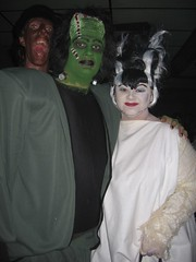 frank and his bride (pearlbeachlady) Tags: halloweenweekend cedars