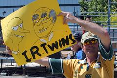 IR Protest: IR Twins