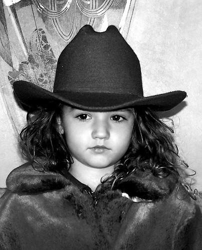 cowgirl hat texas attitude western fur stare