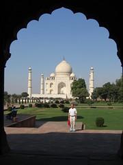 Taj Mahal - arch