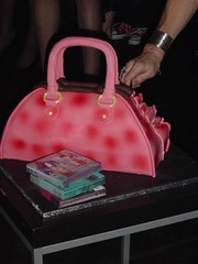 Handbag Cake (Jo Angel) Tags: party laura london cake angels edible handbag laurasbirthday laurahandbag cosmobar handbagcake