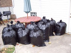 12.75 bags of leaves
