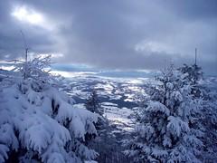 Winter landscape (_Marcel_) Tags: schnee trees winter snow france mountains clouds landscape frankreich wolken berge topf landschaft bume tannen semnoz travelog top20fav