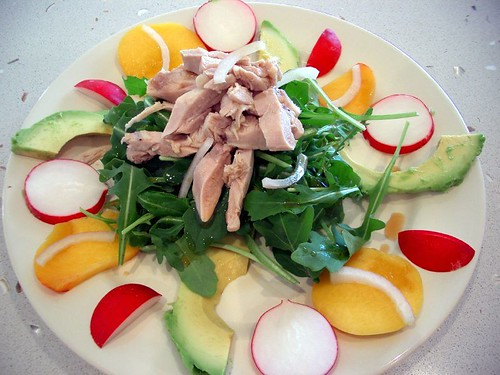 Salad of Poached Chicken with Avocado, R by avlxyz, on Flickr