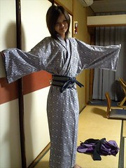 Reina in the Dressing gown