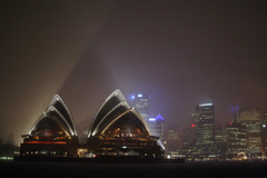 Any House In A Storm (MykReeve) Tags: sydney australia newsouthwales skyline rain light harbour sydneyharbour ferry sydneyoperahouse storm building buildings skyscraper australasia