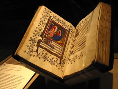 [The Book of Hours. Photo by Jeff Tabaco, via Flickr (CC license)]