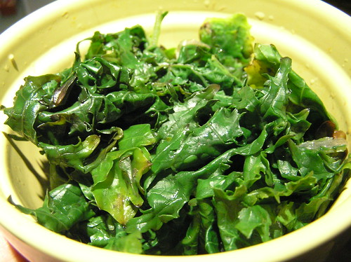 Steamed Kale photo by  Laurel Fan