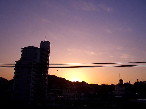sunset / 今日の夕日