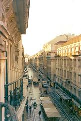 Rua Augusta Lisboa vista do Hotel Internacional Lisboa Portugal amanhecer frio (seLusava) Tags: portugal de hotel lisboa internacional da vista augusta rua baixa amanhecer praçadocomércio terreirodopaço riotejo hotelinternacional selusava selusavá betesga apraçadocomércio