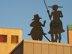 Don Quixote and Sancho Panza