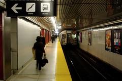 Eglinton Subway Station, Toronto (Craig James White) Tags: toronto ontario canada architecture subway ttc 1954 rapidtransit yongesubway eglintonsubwaystation