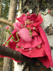 Source of Love (Elina Aulikki) Tags: wool felted felting handmade craft felt feltro naturetable feltdoll