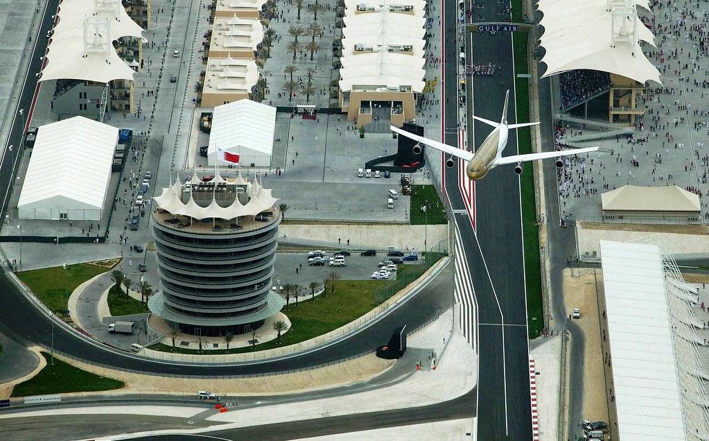 Enlace al sitio oficial Gran Premio de Bahrein Formula 1 Podio 2005